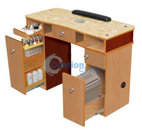 ITC - Classic Manicure Table with Vent (283+925)