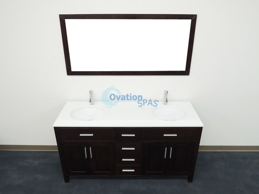 """OS - 63"""" Traditional Double Sink #H"""