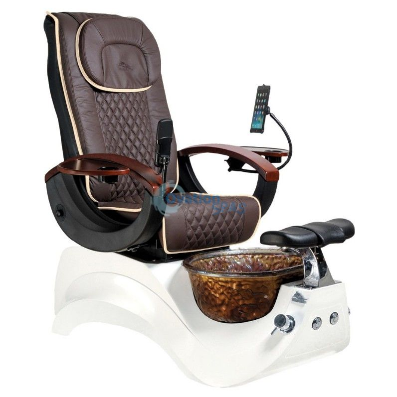 Alden Crystal Pedicure Chair