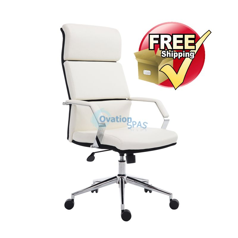 Customer Chair C007 (White)