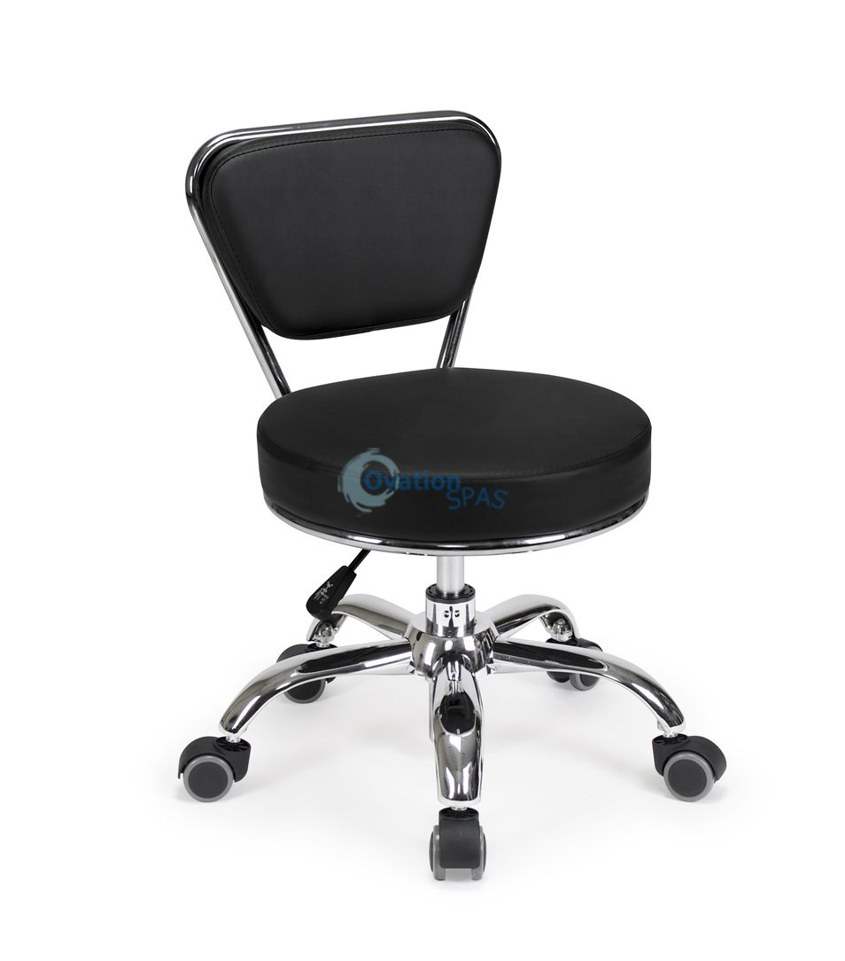 Pedicure Stool P003 (Black)