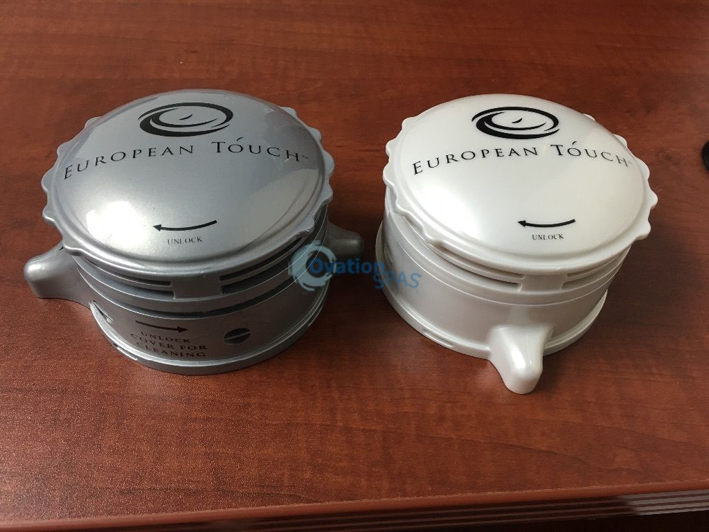 European Touch Pedicure Spa Inlet Jet Cover Set