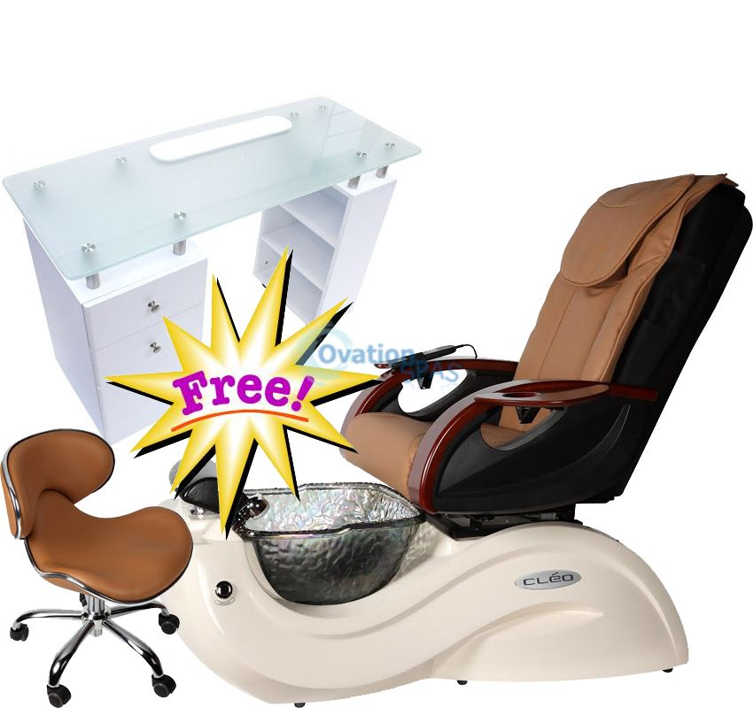 Free Manicure Table with Pedicure Chair NT#9