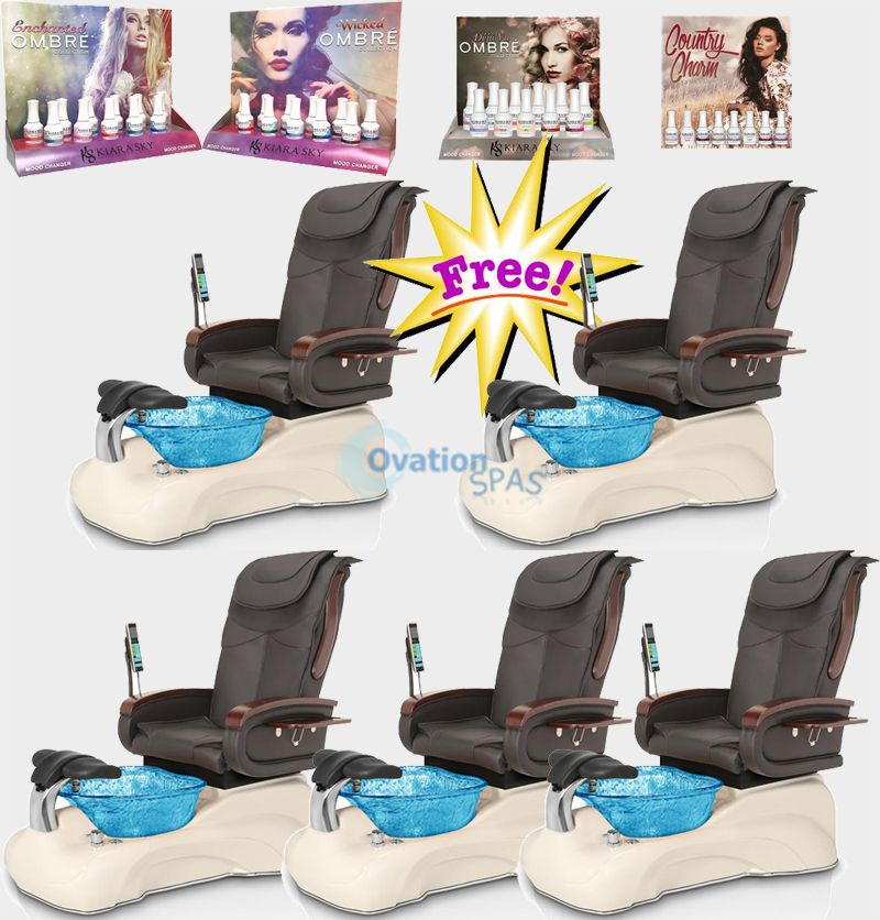 Free Gel Polish Collection with Pedicure Chair PL#2