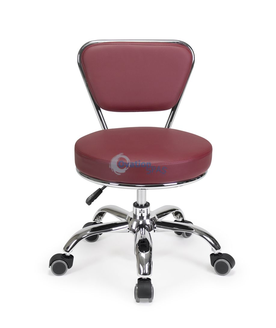 Pedicure Stool P003 (Red)