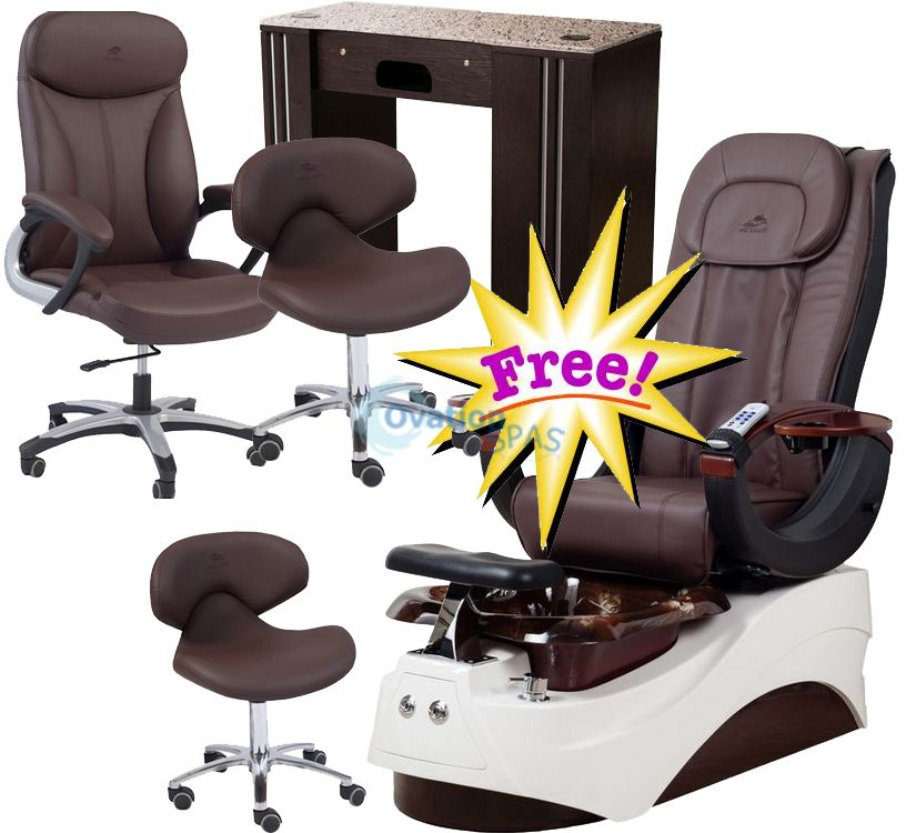 Free Salon Equipment with Pedicure Chair NT#10