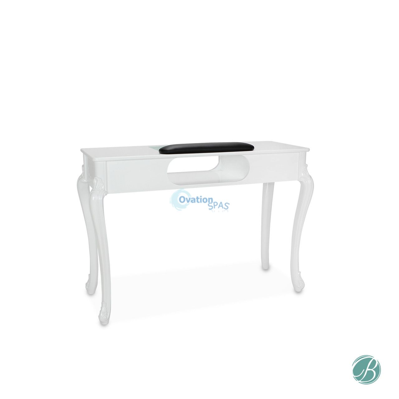 Fiona UV Manicure Table (White)