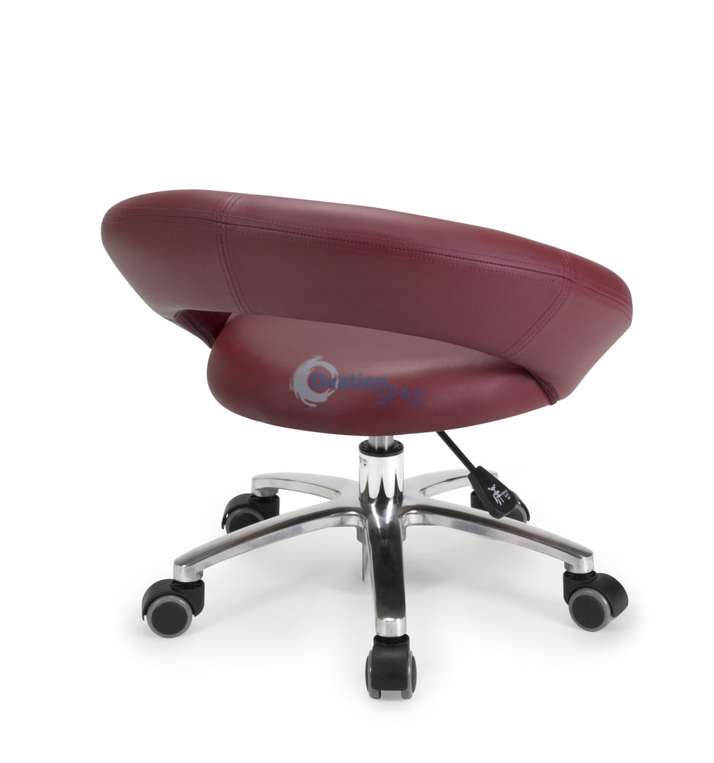 Pedicure Stool P004 (Red)