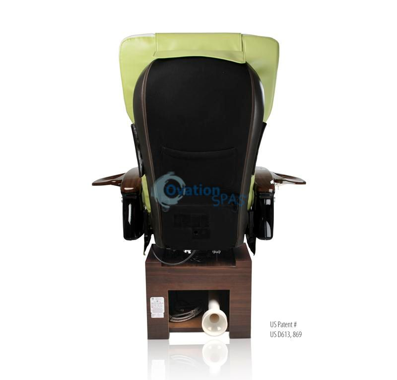 Exhaust Vent - Ion Pedicure Spa Chair