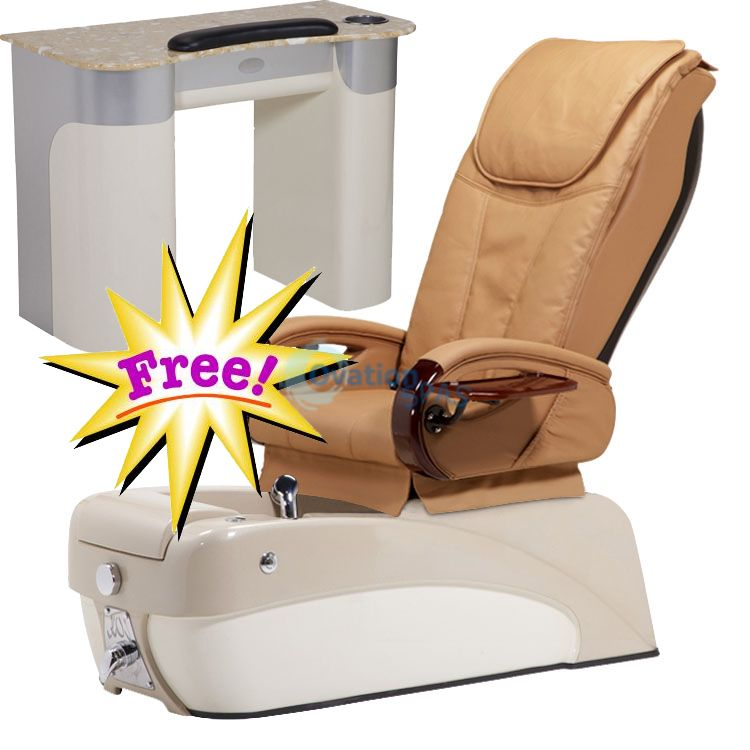 Free Manicure Table with Pedicure Chair NT#7