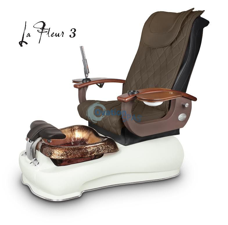 La Fleur 3 Pedicure Spa Chair