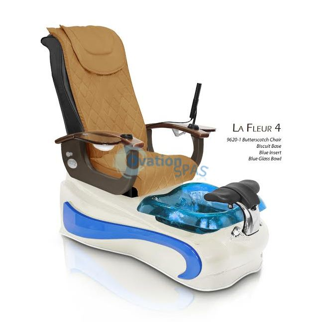 GS La Fleur 4 Air Vent Pedicure Spa Chair