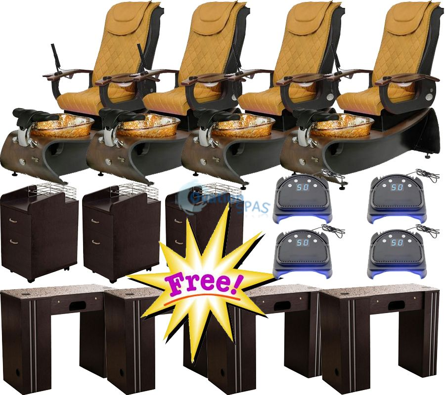 Free Salon Equipment with Pedicure Chair Elite #1