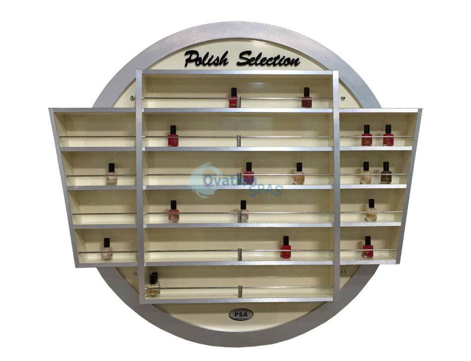 Nail Polish Center (Beige / Aluminum)