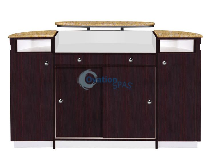 ITC - Advance Reception Desk (90+522) White Marble