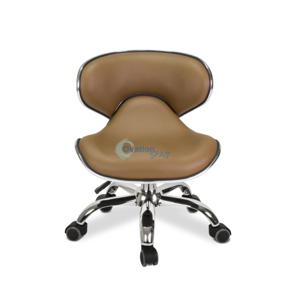 Pedicure Stool P002 (Cappuccino)