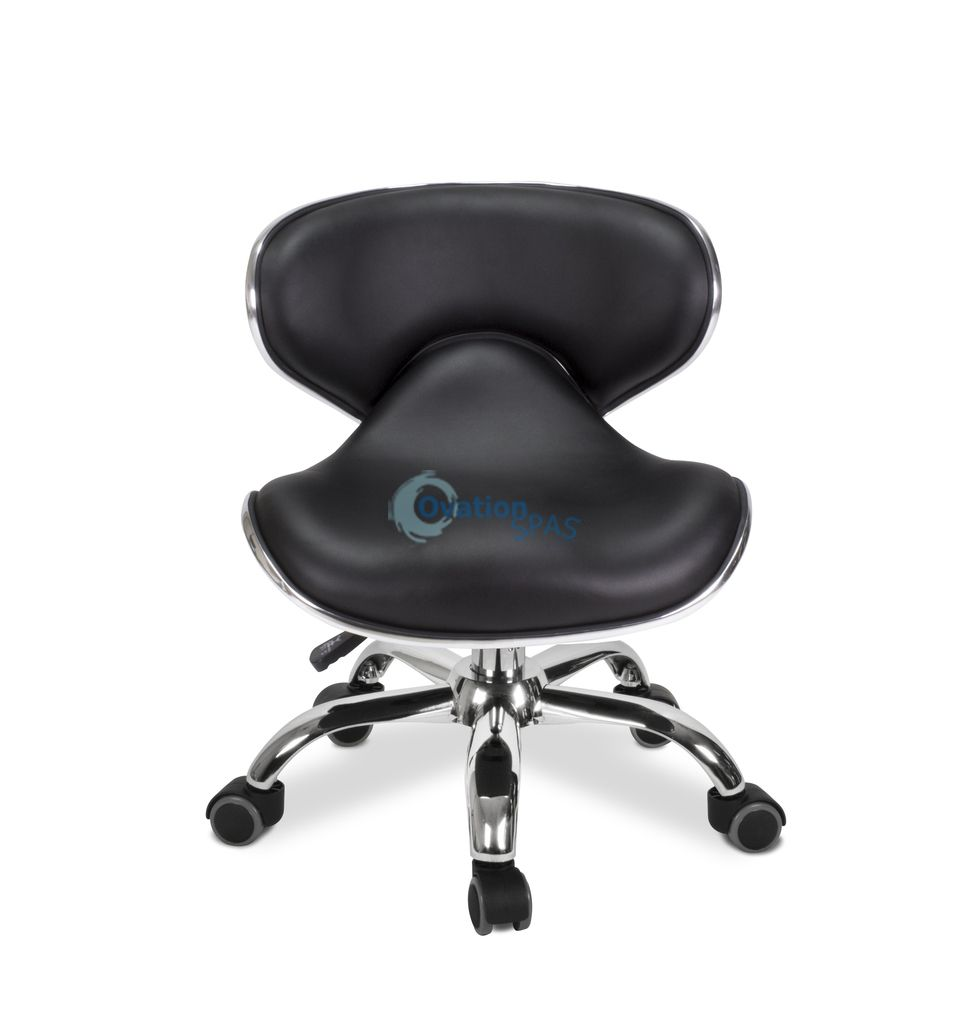 Pedicure Stool P002 (Black)