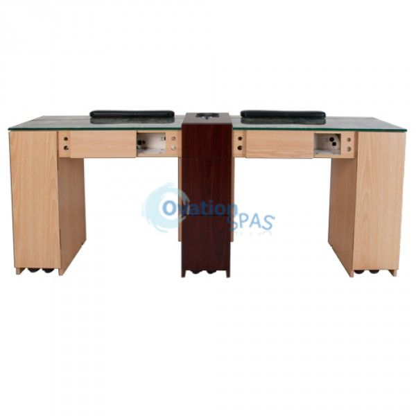 Custom double manicure table for Unique manicure tables