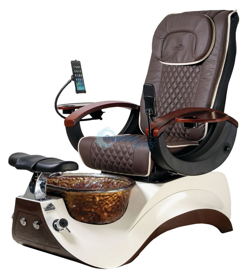 Alden Crystal Pedicure Chair (On Sale)