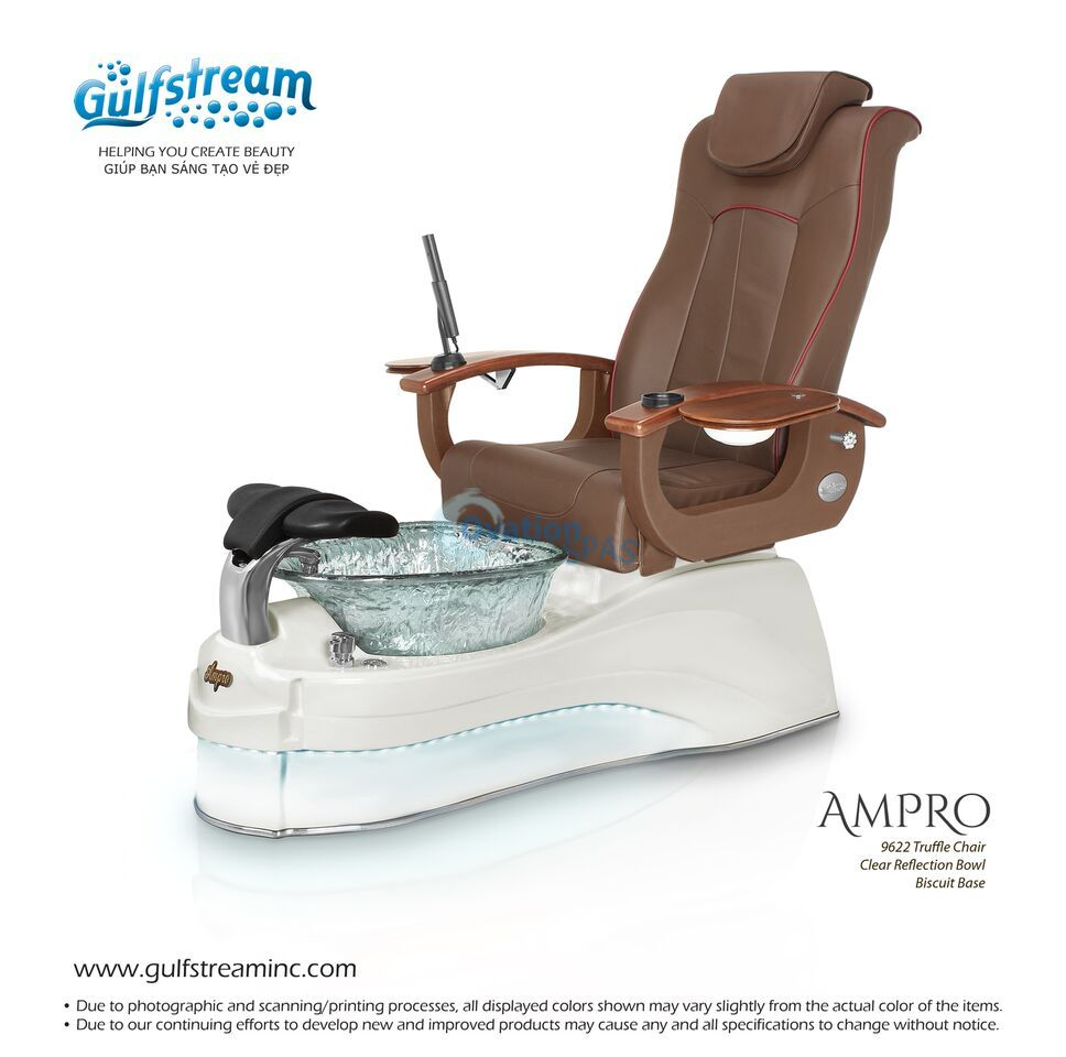 Pedicure chair dimensions - Ampro Led Pedicure Spa Chair