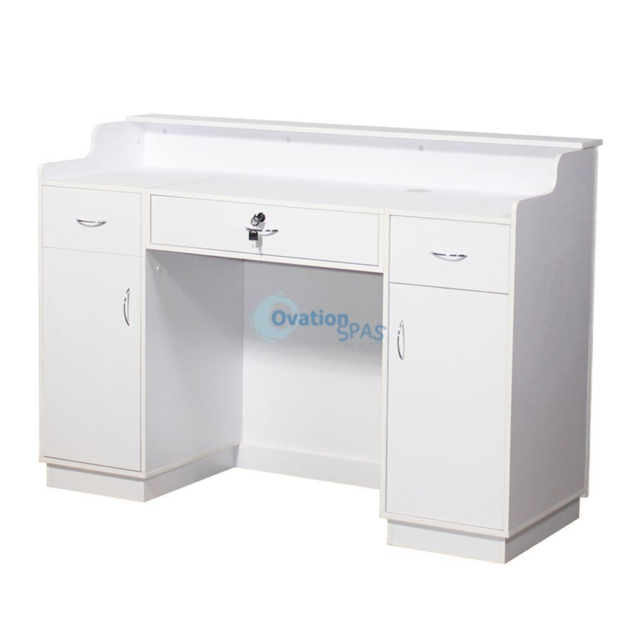 White Reception Desk 48""