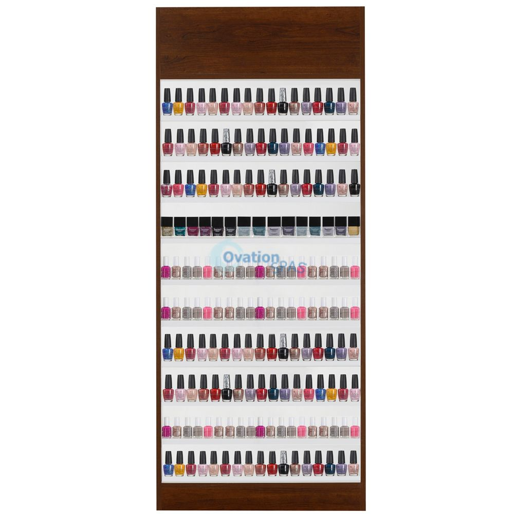 Paris Wall Double Nail Polish Rack