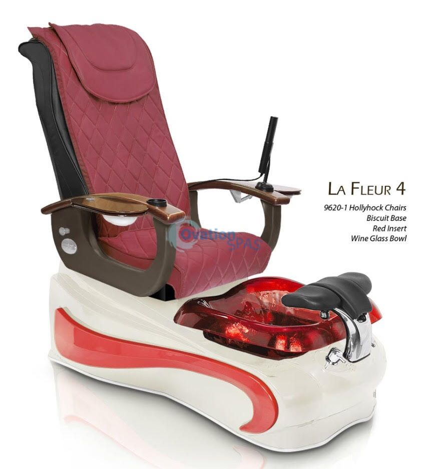 La Fleur 4 Pedicure Spa Chair