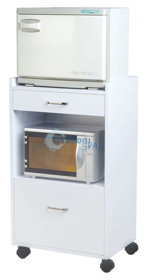 Sterilizer / Hot Towel Warmer Cabinet - White