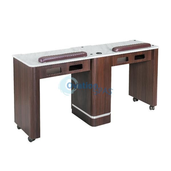 OS3 Nail Table Double Station 59""