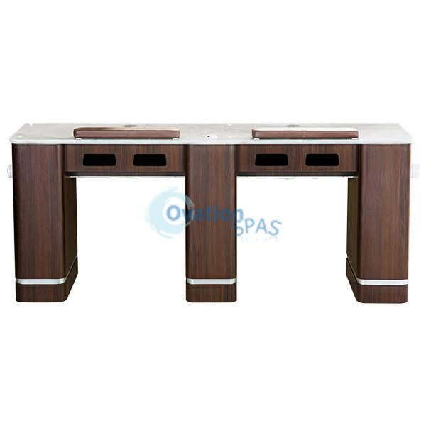 Double Nail Table With Ventilation Pipe