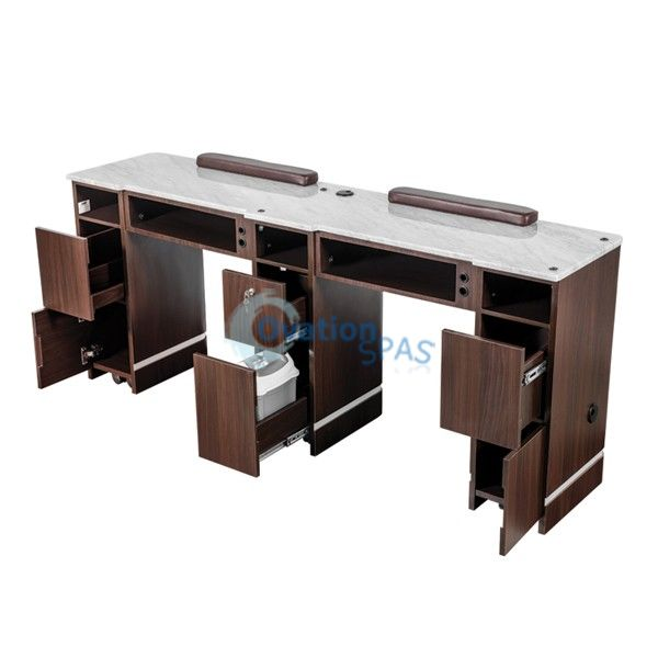 OS3 Nail Table Double Station 71""