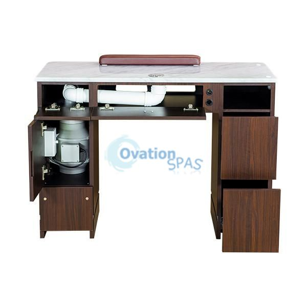 "OS3 Nail Table 41"" with Ventilation System"