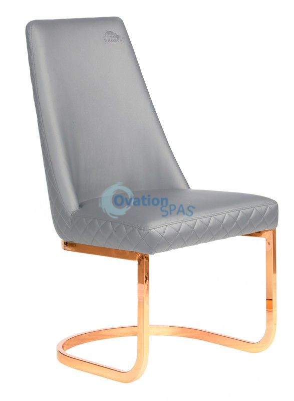 Customer Chair Grey Diamond 8109RG - Rose Gold
