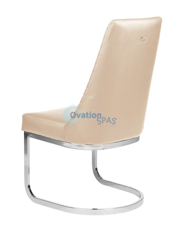 Customer Chair Khaki Chervon 8110