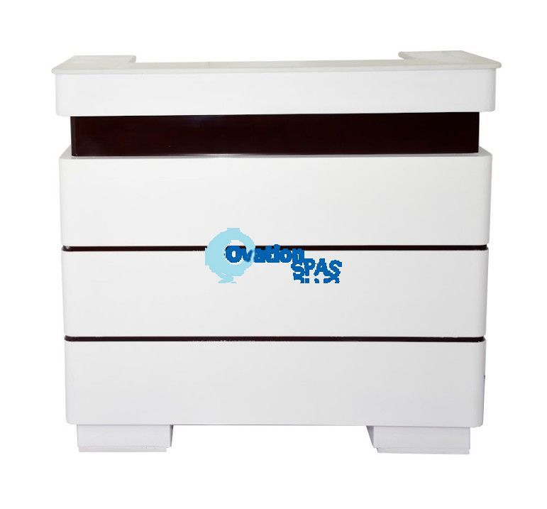 OS1 White Reception Desk