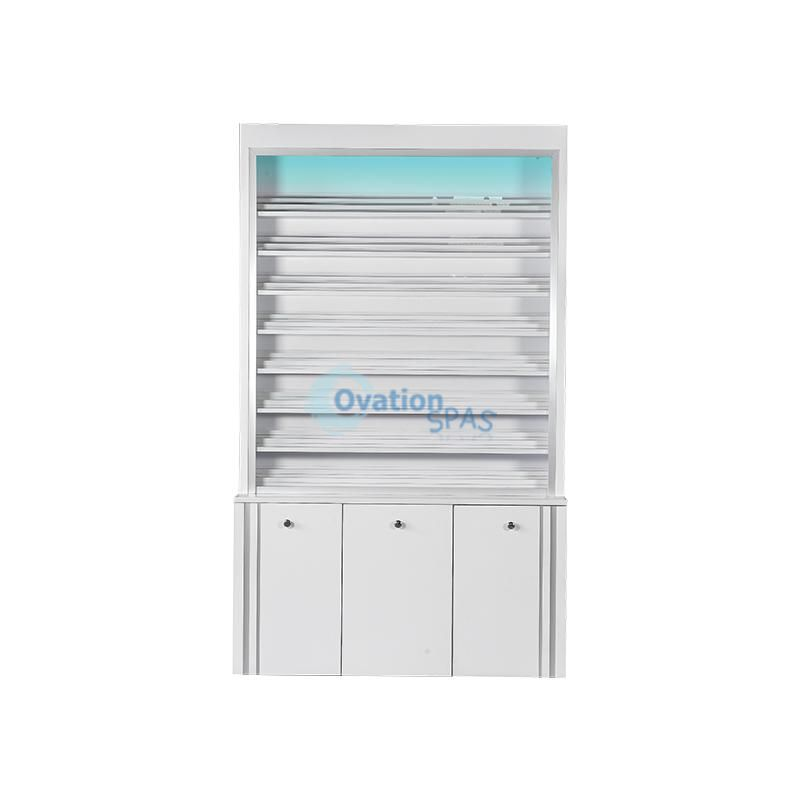 V Powder / Gel Color Cabinet (w/LED Light) #5