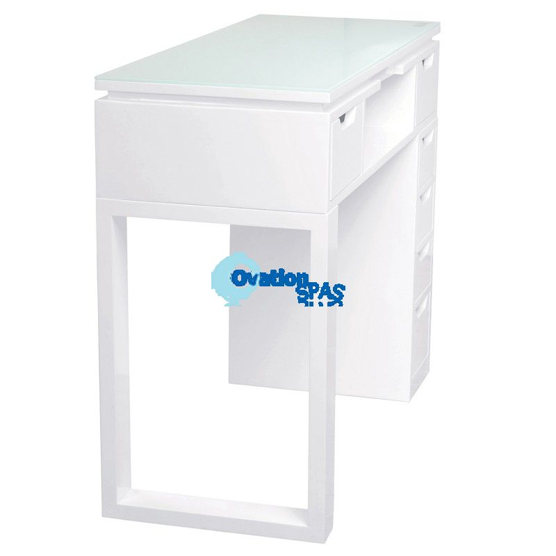 Valentino Lux Nail Table - White