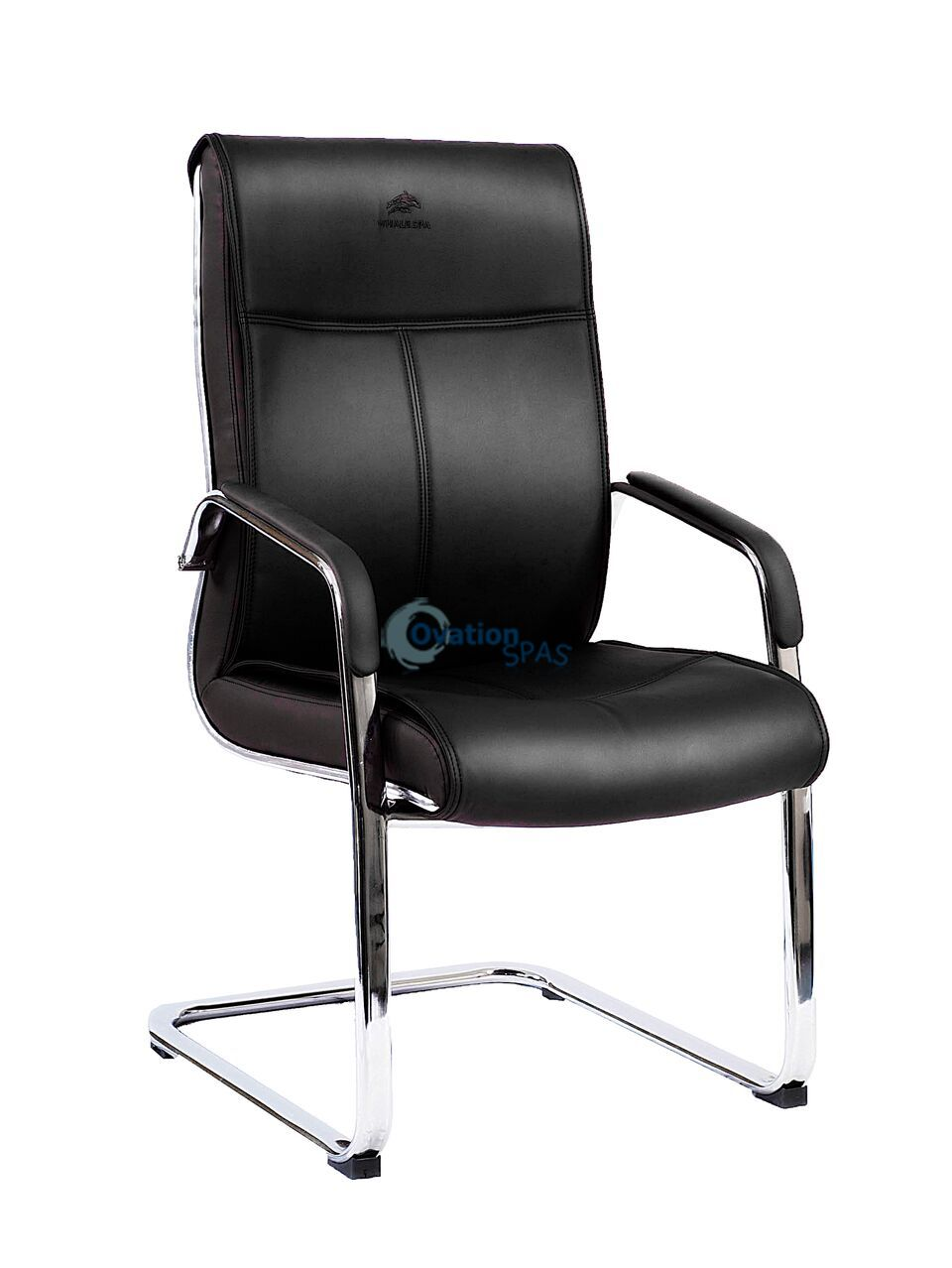 Waiting Chair 8021 - Black