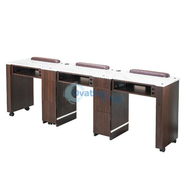 OS3 Nail Table Triple Station 90""